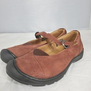 Keen Brown Sterling City Mary Jane Size 8
